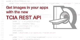 Get images in your apps with the new TCIA REST API